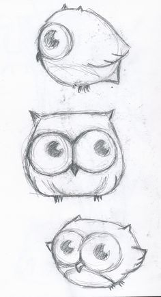 Alphabet art sketch simple shapes animal art letter of the week O Owl Fall/Halloween learn to draw