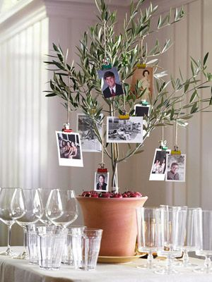 Family Tree Step Ideas For Easy Inexpensive Crafty Table Decorations Thanksgiving