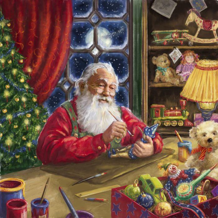 Painting a Pinocchio   SANTA AND MRS CLAUS   Santa ...