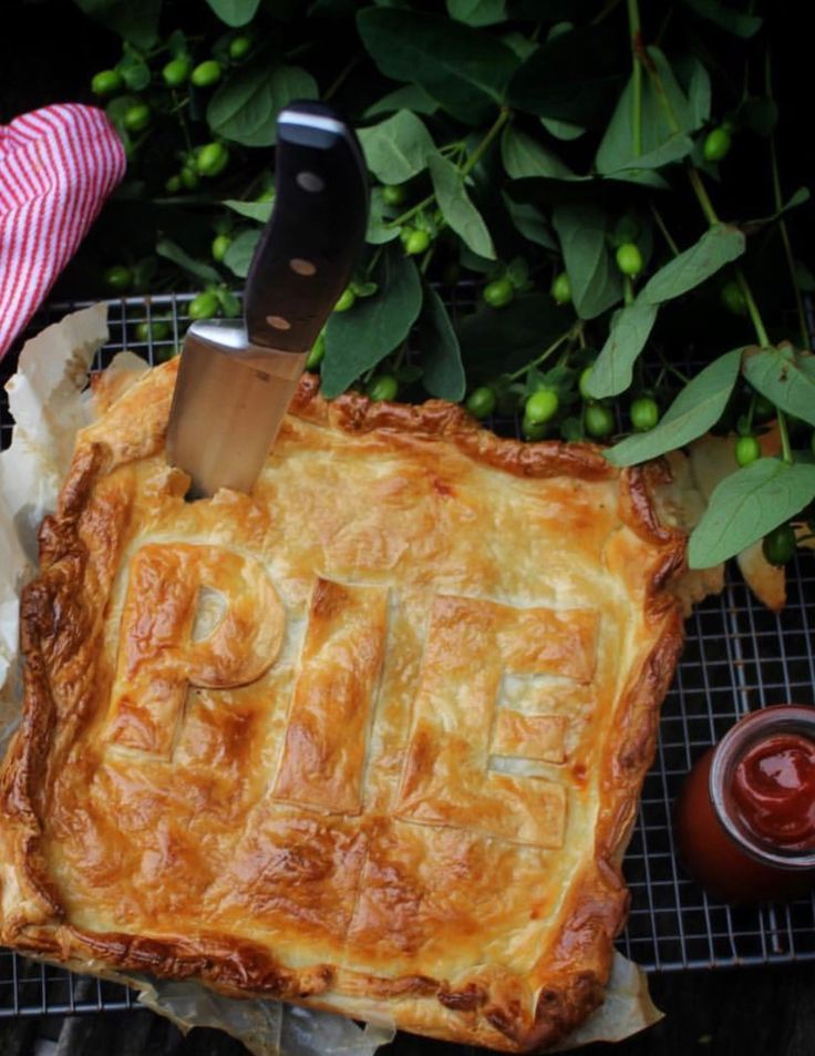 The perfect pie! Photo by Lindsey Hoad #food #pie #foodphotography
