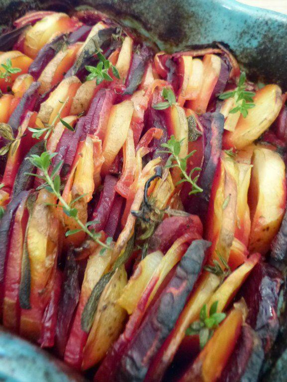 Beetroot & Carrot Bake