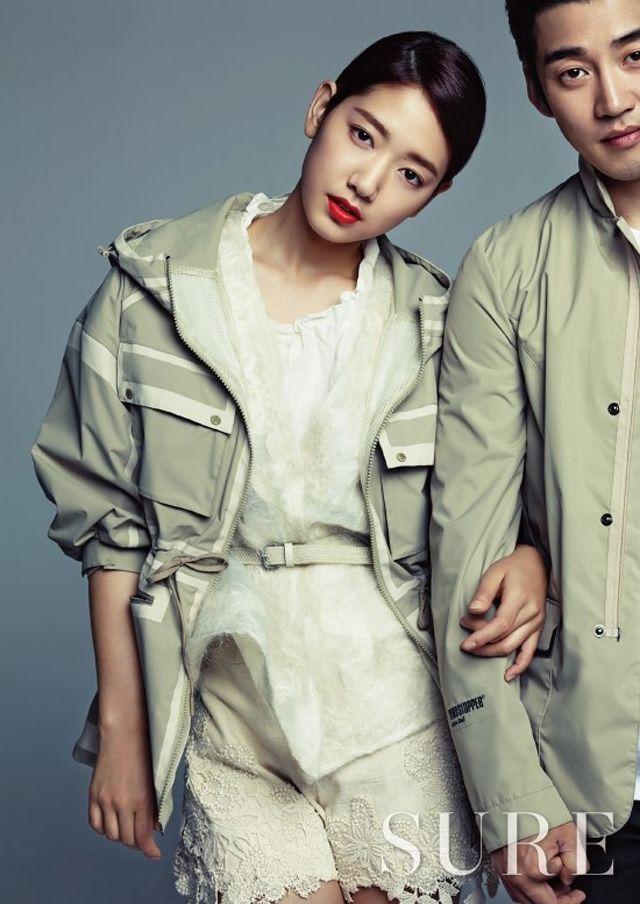 KOLON SPORTS PICTORIAL With Park Shin Hye, Yoon Kye Sang, & Director Kim Ji Woon Featured In Cosmopolitan Korea & SURE
