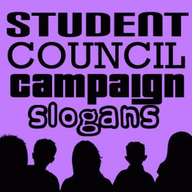 Student council campaign slogans Stuco ideas for posters ...