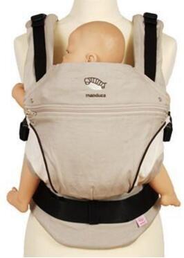 マンドゥカベビースリング多機能オーガニックコットンベビーキャリアアジャスタブル幼児幼児キャリア