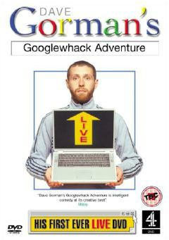 A googlewhack is what happens when two words are entered into Google and it returns with just one hit. Dave Gorman writes about all sorts of whackness.