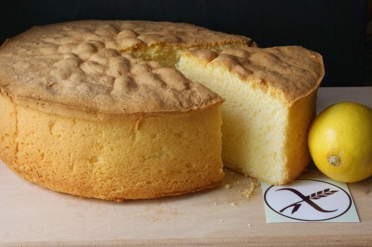 Anna recetas fáciles: Bizcocho esponjoso de limón sin glúten