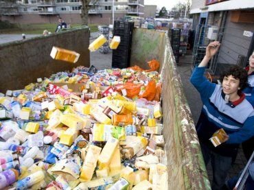 Voedselbank ageert tegen voedselverspilling