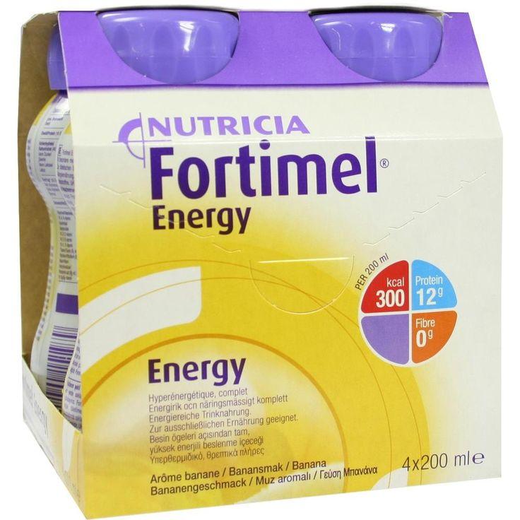 FORTIMEL Energy Bananengeschmack:   Packungsinhalt: 4X200 ml Flüssigkeit PZN: 01125293 Hersteller: MCM KLOSTERFRAU Vertr. GmbH Preis:…