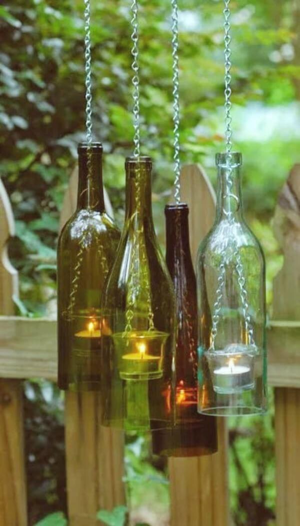 29 Creative Diy Garden Lantern Ideas For 2020 Wine Bottle