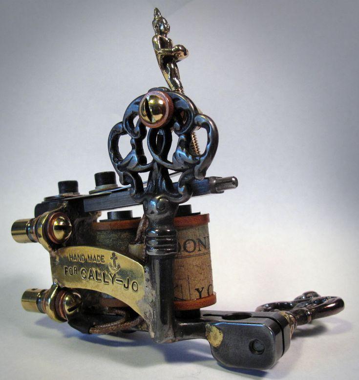 """Antique Tattoo Machine """"Handmade for Cally-Jo"""""""