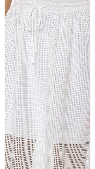 CLOVER CANYON Square Mesh Skirt. #clovercanyon #cloth #skirt