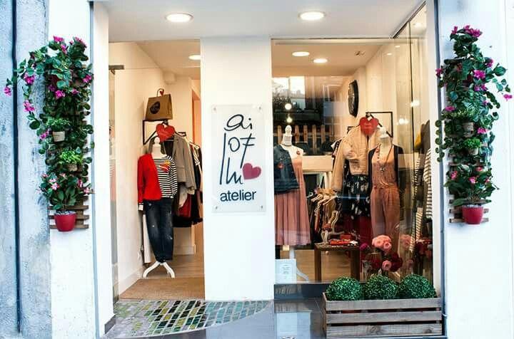 #primavera Estamos preparadas! 🌸🌸🌸 #tiendasbonitas #flowers #flores #spring #printemps #irun #irún #hondarribia #gipuzkoa #Euskadi #ailofllu