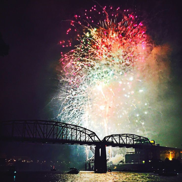 4th of July Fireworks in Nashville