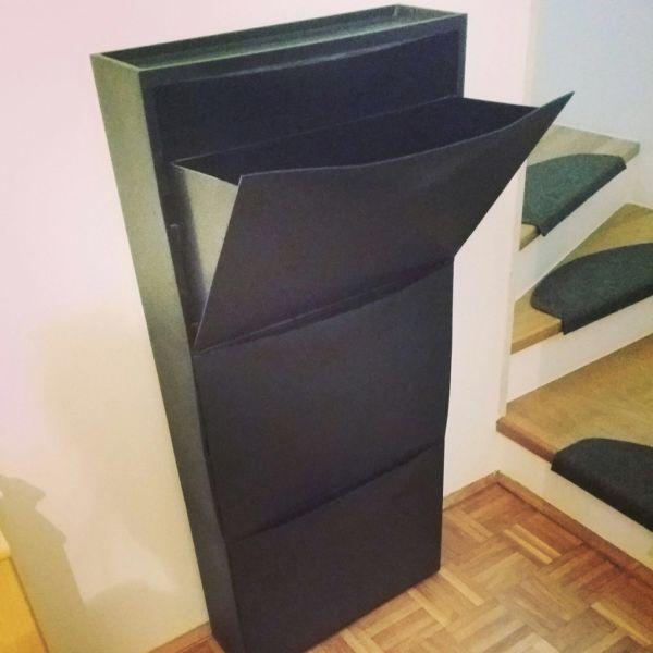 die besten 25 schuhregal ikea ideen auf pinterest ikea schuh ikea eingang und schuhregal mit. Black Bedroom Furniture Sets. Home Design Ideas