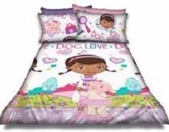 SINGLE Doc McStuffin duvet set @ R320  For more info & orders, email SweetArtBfn@gmail.com or call 0712127786 (SA Shipping available @ R45)