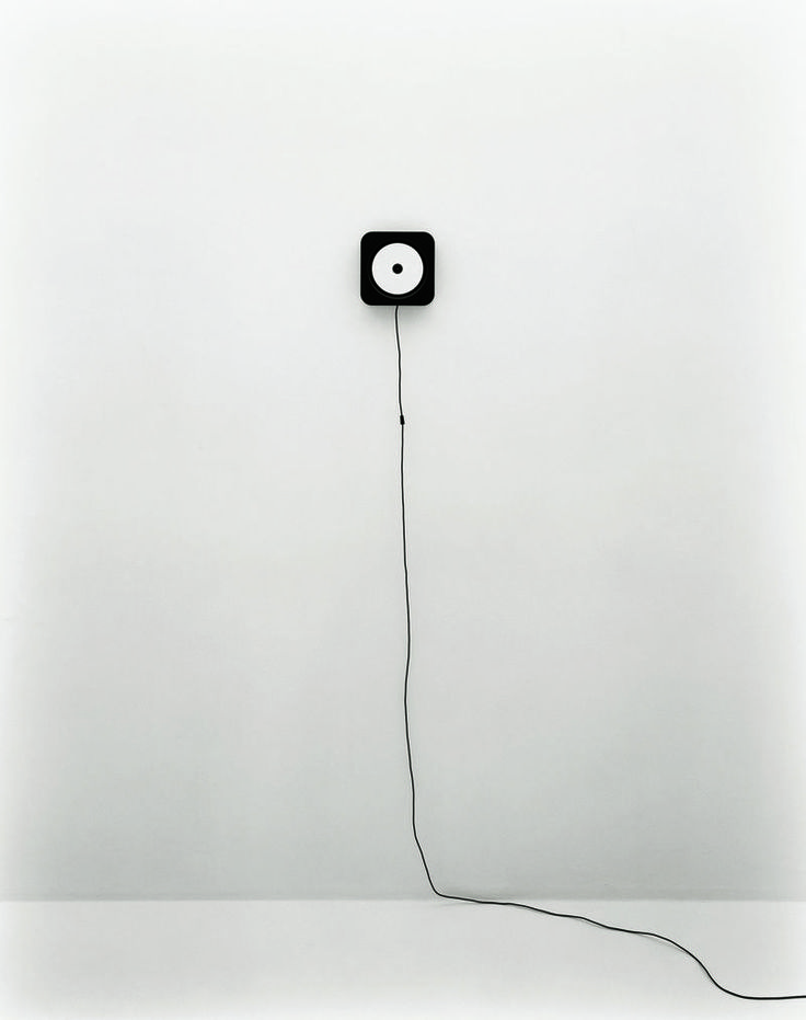 Design Classics: Wall-mounted CD player by MUJI - ph. Tamotsu Fujii