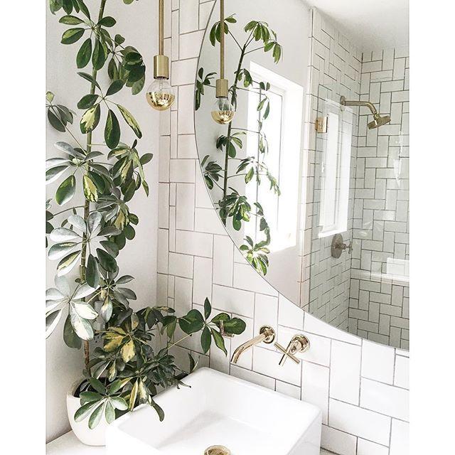 new pendants in the bath because can never get enough cedarandmoss samuelhomerenovation - Fantastisch Bing Steam Shower