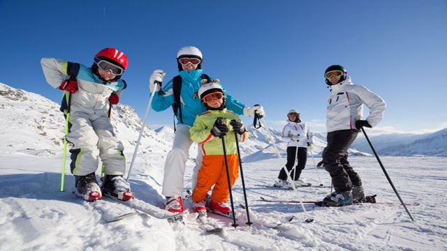 Ski tips for kids and family
