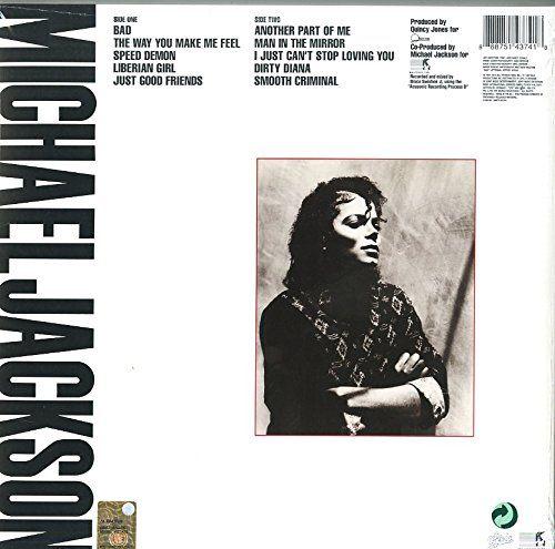 Bad [Vinyl LP] - Michael Jackson: Amazon.de: Musik