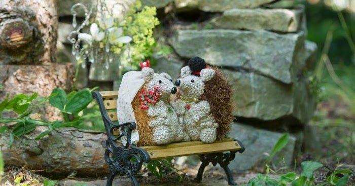 Men hur söta är dom inte, herr o fru igelkott. Hemmets veckotidning har ett mönster HÄR .