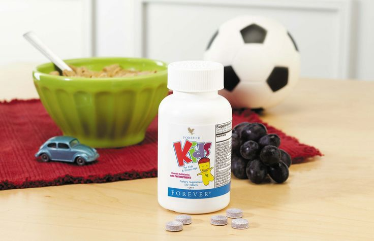 Forever Kids Multivitamins (Φυτικές πολυβιταμίνες για παιδιά, με υπέροχη γεύση) €12,60