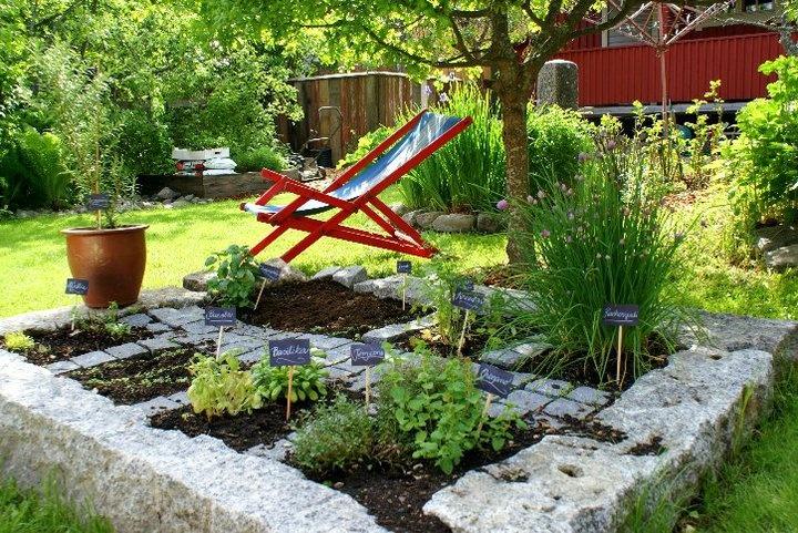 Garden in Kristinestad, Finland during Öppna Portar-Avoimet Portit.
