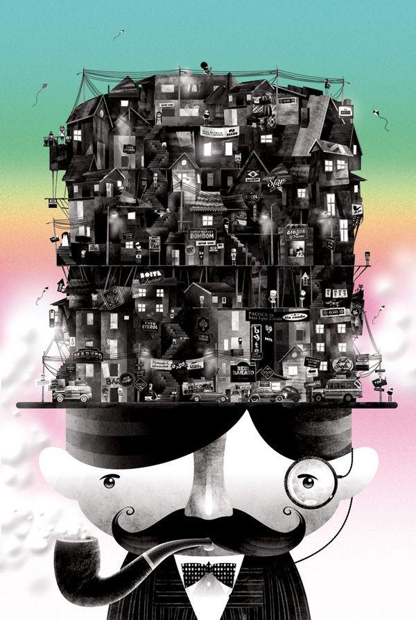 MTV Brasil - Cartola Groove by Estúdio Alice, via Behance