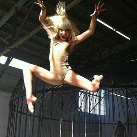 Miss Ziegler high jumps