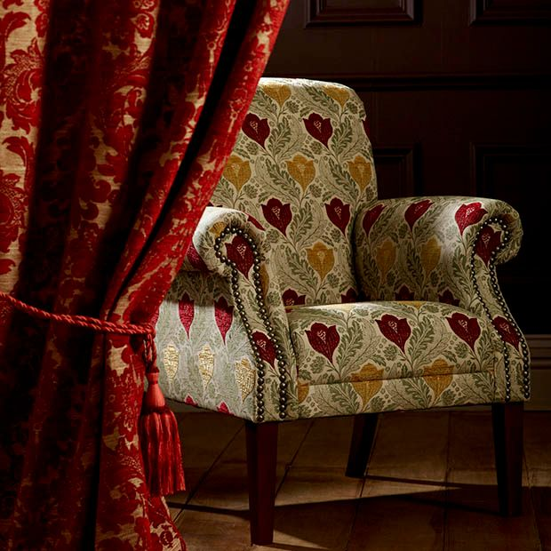 Warwick Fabrics: RED HOUSE