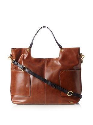 58% OFF IIIBeCa Women's Shopper Cross-Body (Saddle)