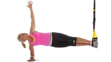 Side plank+TRX