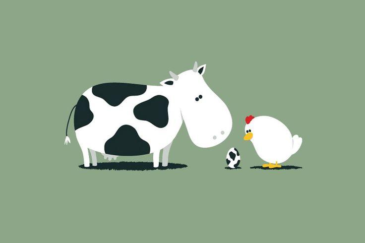 Cartoon Cow (id: 45416) – BUZZERG