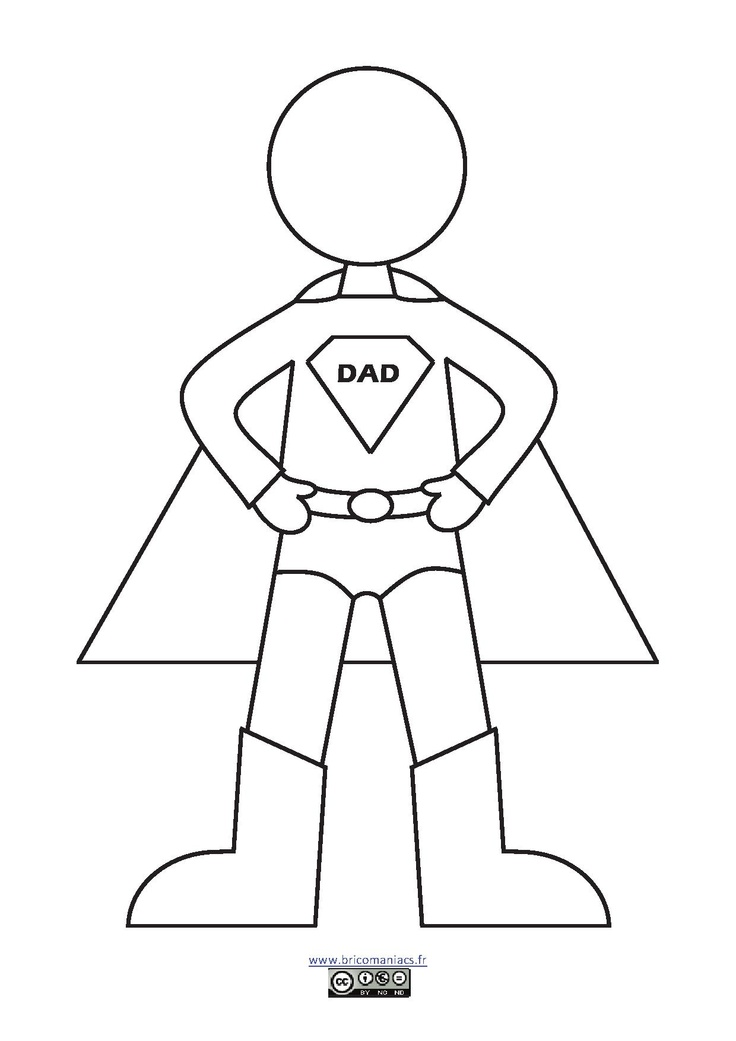 super dads coloring pages - photo#27