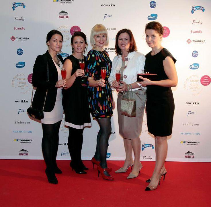 Markkinointi ja viestintä & Gloria Blog Awards