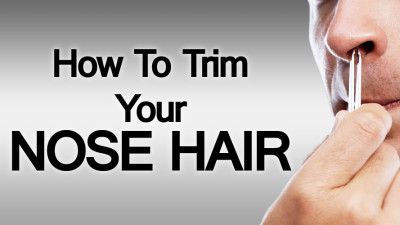 How To Trim Your Nose Hair | 6 Nasal Hair Grooming Methods And Nose Cleaner Tools (via @antoniocenteno)