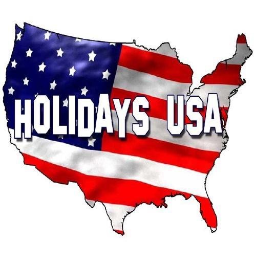 Public National Holidays in USA #stepbystep