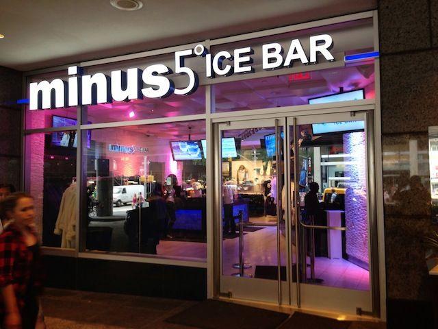 Drink Spirits Walks Into A Bar: Minus 5° Ice Bar New York City - Drink Spirits