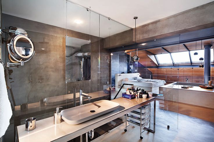 Turkish design firm Ofist fashioned this fabulous bachelor-pad penthouse with cool that can't be denied, and nothing to hide! Measuring just shy of 2,000 sq. ft., this sprawling loft...