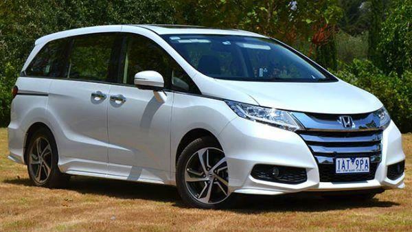 2016 Honda Odyssey White