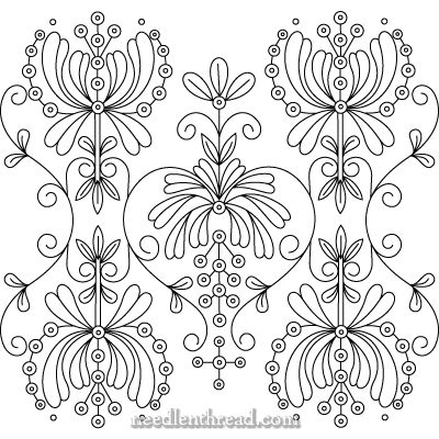 Free Hand Embroidery Pattern - lots of possibilities!