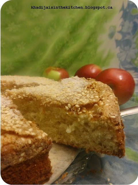 GÂTEAU AUX POMMES / APPLE CAKE / BIZCOCHO DE MANZANA / كيك بالتفاح