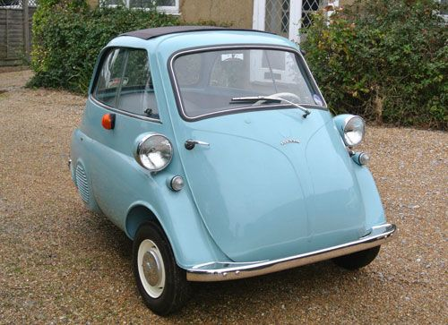 Fully restored 1960s Isetta 300 Plus bubble car.... In the not so fast lane, but awesome car just the same!