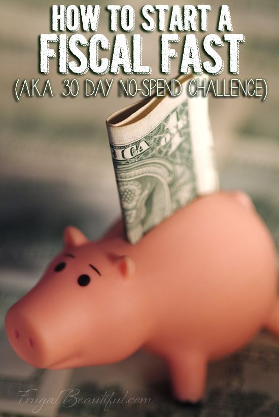 Want to try a 30 day no-spend challenge? Here are my tips on how you can successfully complete a fiscal fast for a month.