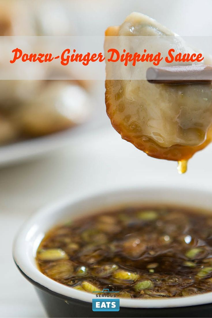 This no-cook dipping sauce features ponzu, the citrus- and soy-spiked ...