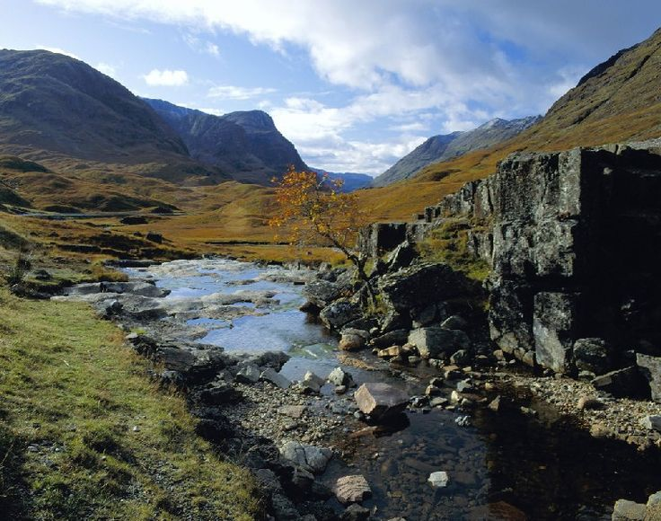 Paysage de l'île de Skye, en Ecosse