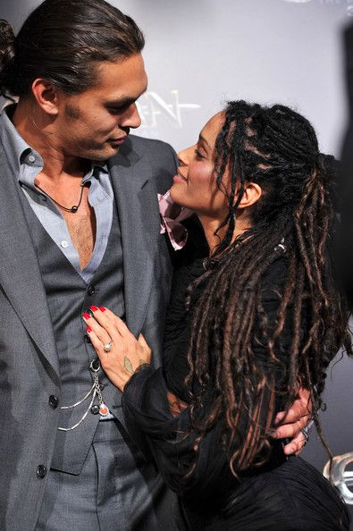 "Jason Momoa and Lisa Bonet Photo - Premiere Of Lionsgate Films' ""Conan The Barbarian"" - Red Carpet"