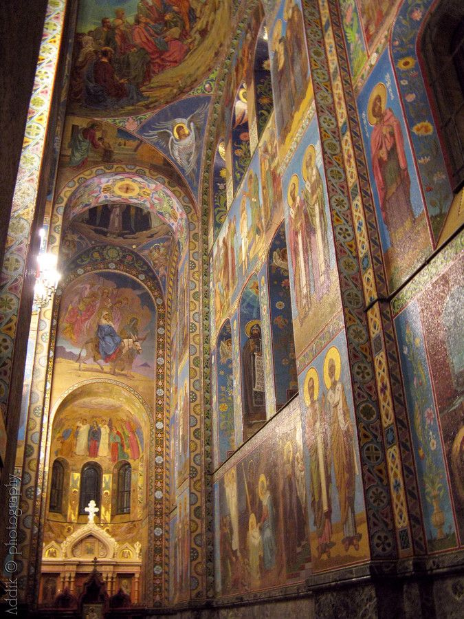 The Church of the Savior on Spilled Blood / Храм Спаса на Крови. St Petersburg / Санкт-Петербург.