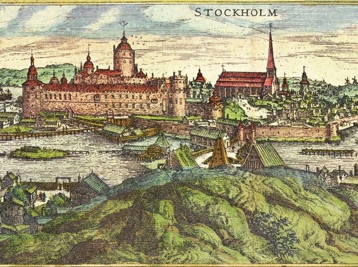 Stockholm-Helgeandsholmen-1570-Hogenberg - Storkyrkan – Wikipedia