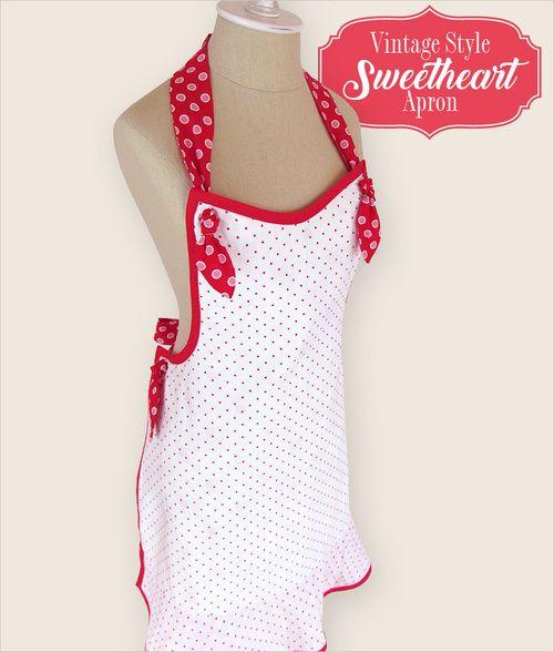 Style Sweetheart Vintage Grembiule | Sew4Home