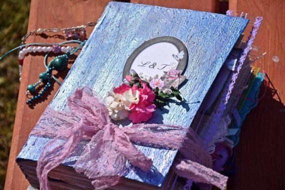 fairytale wedding Guest Bookwedding photo by VictoriaWeddingArt